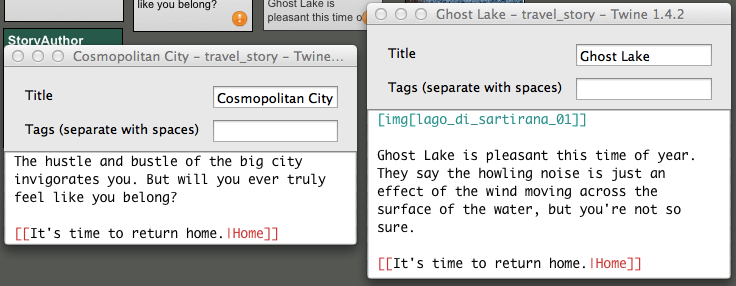 A Quick Twine Tutorial: Hypertext and Interactive Fiction